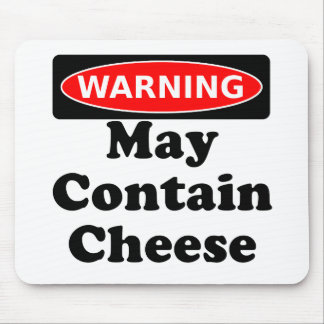 May Contain Cheese Mouse Mat
