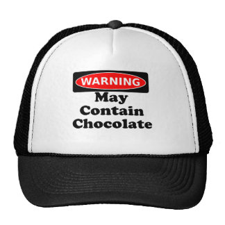 May Contain Chocolate Mesh Hat