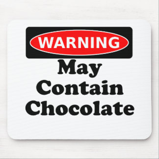 May Contain Chocolate Mousepad