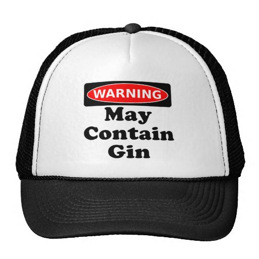 May Contain Gin Hat