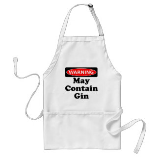 May Contain Gin Standard Apron