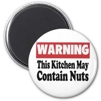 May Contain Nuts Magnet