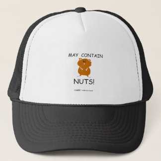 May Contain Nuts Syrian Hamster Trucker Hat