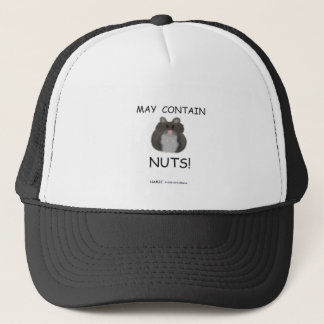 May Contain Nuts Winter White Hamster Trucker Hat
