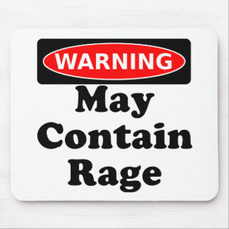 May Contain Rage Mouse Mat