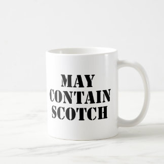 May Contain Scotch Coffee Mug