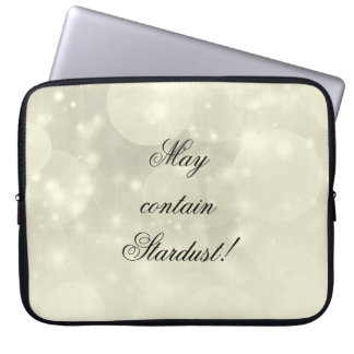 'May contain stardust' laptop case. Laptop Sleeve