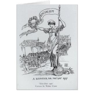May Day, 1907 Card