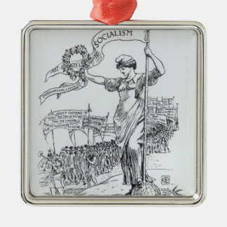 May Day, 1907 Christmas Ornament
