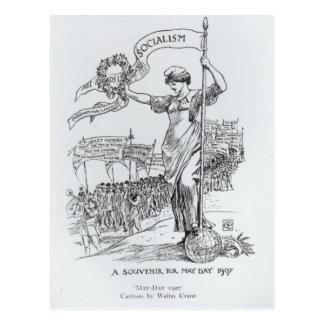 May Day, 1907 Postcard