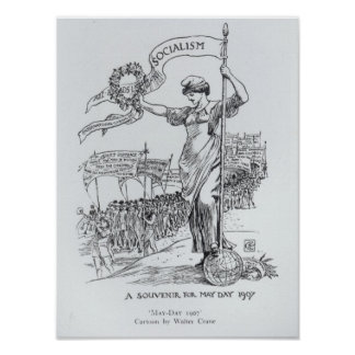 May Day, 1907 Poster
