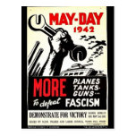 May - Day 1942 More To Defeat Post Card