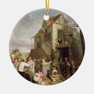 May Day, c.1811-12 (oil on canvas) Round Ceramic Decoration
