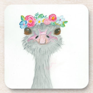 May Day Ostrich Coasters