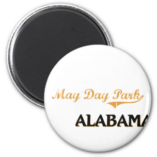 May Day Park Alabama Classic 6 Cm Round Magnet