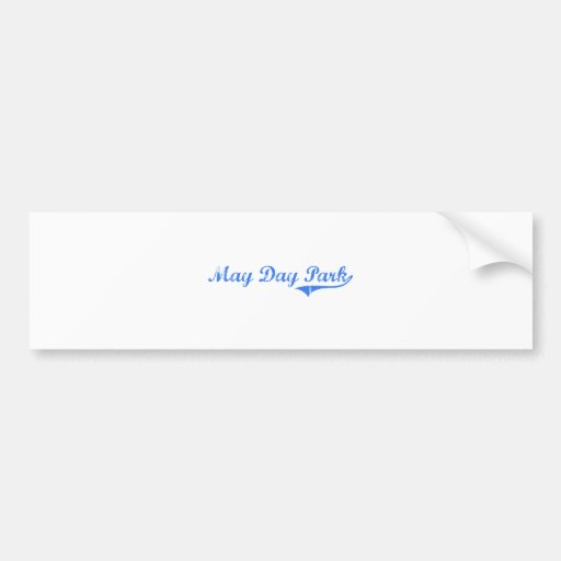 May Day Park Alabama Classic Design Bumper Stickers