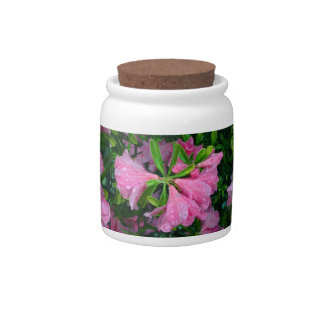 May Flowers Candy Jar