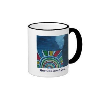 MAY GOD HEAL YOU COFFEE MUG