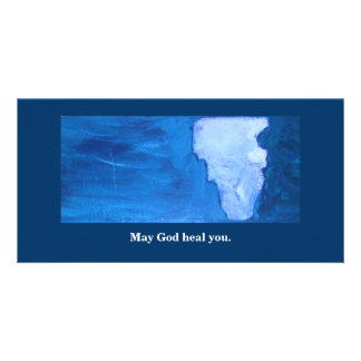 MAY GOD HEAL YOU PICTURE CARD