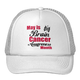 May is Brain Cancer Awareness Month Cap