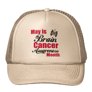 May is Brain Cancer Awareness Month Hats