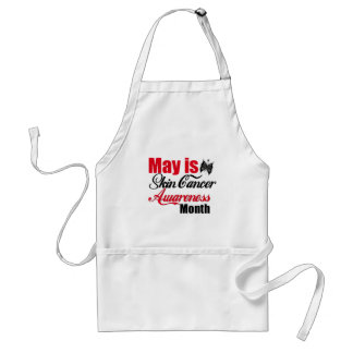 May is Skin Cancer Awareness Month Butterfly Standard Apron