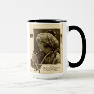May McAvoy 1921 vintage portrait mug