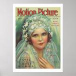 May McAvoy Vintage Movie Magazine Cover Print