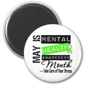 May - Mental Health Awareness Month Refrigerator Magnets