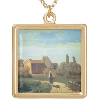 May Morning (oil on canvas) Custom Jewelry