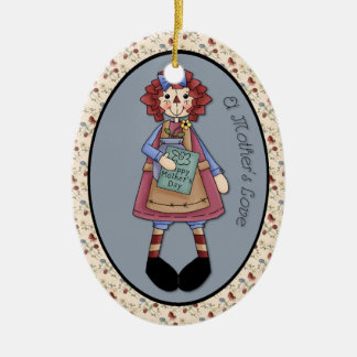 """May Raggedy Ann """"A Mother's Love"""" Ornament"""