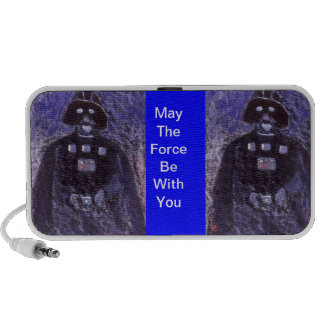 May the force be with you Doodle Travel Speaker