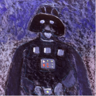 MAY THE FORCE BE WITH YOU STANDING PHOTO SCULPTURE