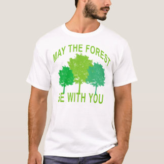 may the forest be with you light green T-Shirt.png T-Shirt