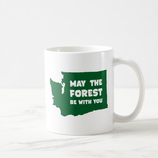 May the Forest Be With You Washington Coffee