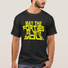 MAY the FORTIES Be With YOU! 40th Birthday Tee