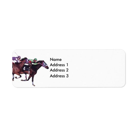 May The Horse Be With You!, Address 3, Address ... Return Address Label
