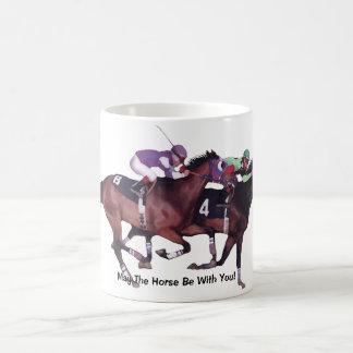 May The Horse Be With You! Basic White Mug