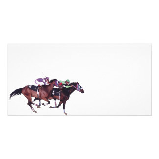 May The Horse Be With You! Photo Card Template