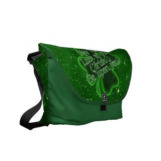 May the luck of the Irish.....(tilt) Messenger Bag
