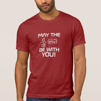 MAY the (Physics) FORCE Be With YOU Tee