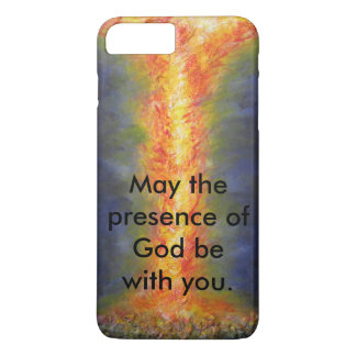 May the presence of God be with you. iPhone 7 Plus Case