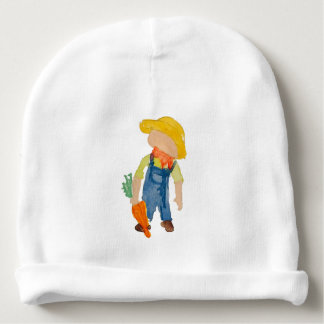 May Toddie Time Spring Planting Farmer Toddler Baby Beanie