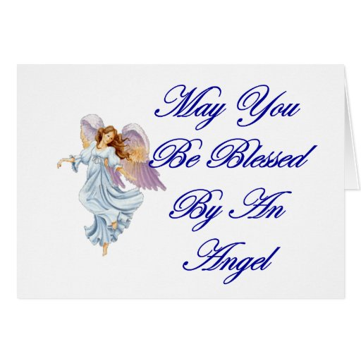 May You Be Blessed By An Angel Cards
