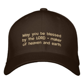 """""""May you be blessed by the LORD"""" hat Baseball Cap"""