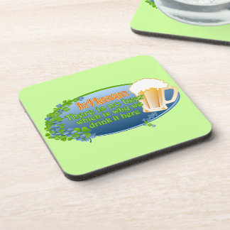 May You Be In Heaven Ver 1 Drink Coaster