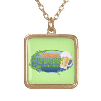 May You Be In Heaven (Ver 1) Gold Plated Necklace
