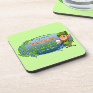 May You Be In Heaven Ver 2 Drink Coaster