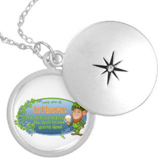 May You Be In Heaven (Ver 2) Locket Necklace
