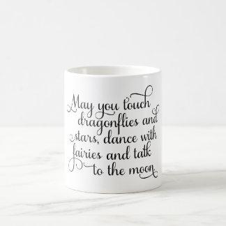 May you dance with fairies Irish Blessing Coffee Mug